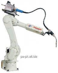 Роботи промислові для дугового зварювання
