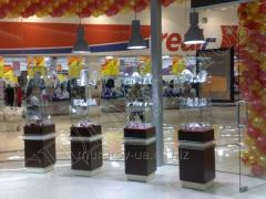 Furniture for jewelry stores