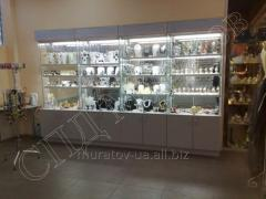 Furniture for shops perfume