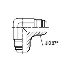 Соединитель угловой 90° W SAE J514