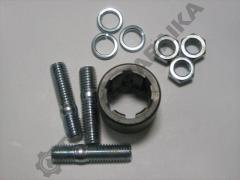 Assembly set for the 3-screw pump
