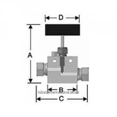 Двусторонний прямой клапан HP