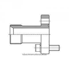 Фланцевое соединение 4-отверстия / наруж. резьба BSP 60°