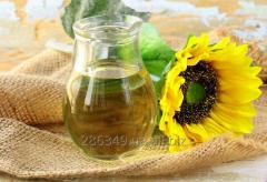 The sunflower oil (refined)
