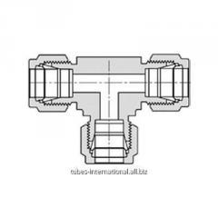 Соединитель тройник для метрических трубок M764L Let-Lok