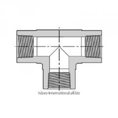 Тройник с внутр. резьбой NPT 101H