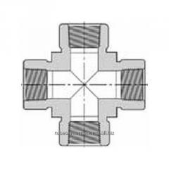 Крестовое соединение с внутр. резьбой NPT 102H