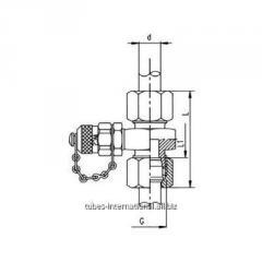 Измерительное соединение M16x2 с соединением в соот. с  DIN 2353