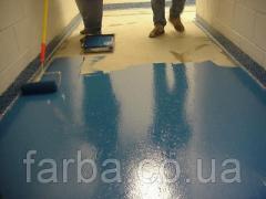 Краска для бетонных полов АК-11, краска для