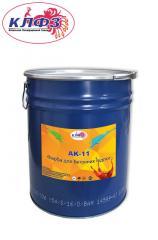 Paint for concrete floors of AK-11, paint for