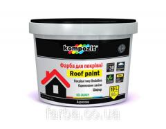 Paint for Kompozit® roof, paint for roofs with