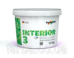 Interior paint INTERIOR 3 (14 kg)