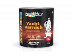 Varnish yacht polyurethane Kompozi