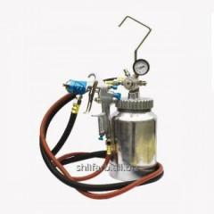Tank of delivery 2,2 l + airbrush of 1,0 mm + hose of 2 m pneumatic Air Pro 77-2QT