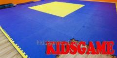 Маты EVA - напольное покрытие для фитнес-центров и