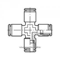 Крестообразное соединение, латунь R 40