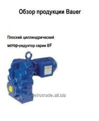Плоский циллиндрический мотор-редуктор серии ВF
