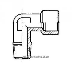 Коленко 90°, наружная конусная / внутренняя резьба A 10