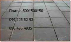 ПЛИТА ТРОТУАРНАЯ   8К8 (1 х 1 м)
