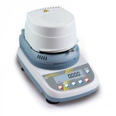 Analyzer of KERN DLB 160-3A of humidity