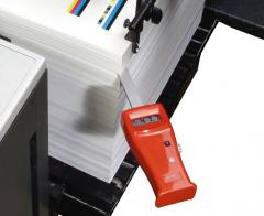 Measuring instrument of humidity of GTS paper