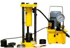 Laboratory press of POML-1A