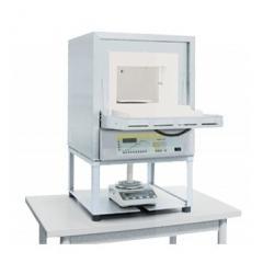 Печная система с весами и программным обеспечением для определения потерь при прокаливании