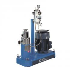 MHD mixer (continuous process)