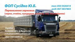 Перевезення зернових вантажів