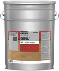 Водорастворимое, прозрачное, глубоко матовое масло Cetol WF 732 OilFinish