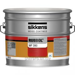 Finishing covering of Rubbol WF 390 metallic