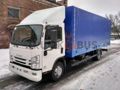 The ISUZU NQR 90 L-K/M car – a board awning + gate