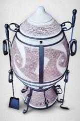 Set Fabergé tandoor + ceramic ashpi