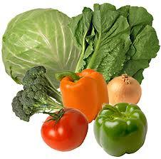 Овощи зеленые, корнеплоды, клубневые и ризомы,