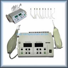 Aparatura stacjonarna do lokalnej darsonwalizacji i terapii ultradźwiękowej CORONA C + U (10 elektrod)