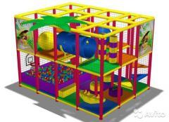 Детская комната лабиринт.парковые