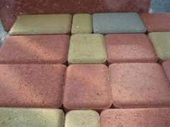 Плитка тротуарная  «Кирпич гладкий»