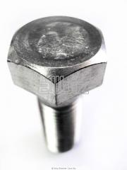 Hexagon head bolts of different sizes
