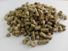 Пеллеты древесные  6 мм светлые