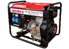 Diesel ERS 4.6d 4,6/5,0 generator of kW.