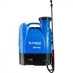 Опрыскиватель садовый аккумуляторный Sadko SPR-15E (с удлинительной трубкой)