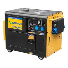 Дизельный генератор Sadko DSG-6500Е ATS