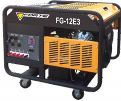 Генератор бензиновый Forte FG12E3 (8,5-9 кВт)