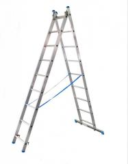 Ladder of universal folding 2-h-section (2x10)