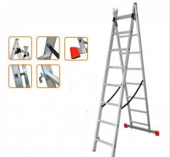 Ladder universal folding 2-h-section (2x10)