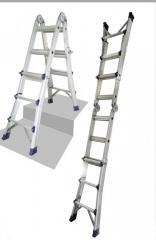 Телескопическая лестница (3x4) Практика