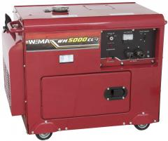 Diesel generato WEIMA WM5000CLE (1 and 3 phases)