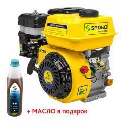 Двигатель бензиновый Sadko GE-200 PRO(воздушный фильтр с масляной ванной)