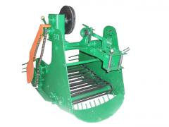 Картофелекопатель механизированный КМ-6 для тяжелых мотоблоков привод справа