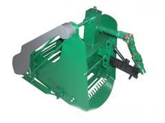 Картофелекопалка транспортерная для мотоблока КМ-5 (ВОМ) SKIFF